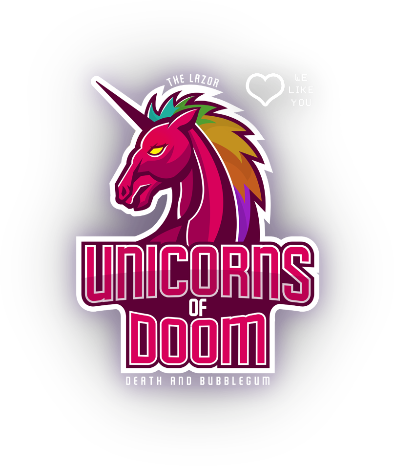 The Lazor Unicorns of Doom, Death and Bubblegum